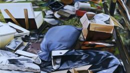 Arbeit von Eberhard Havekost: Trash (Ausschnitt). (© Staatliche Kunstsammlungen Dresden)