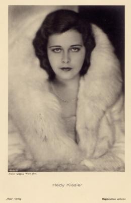 Hedwig Kiesler, Wien, um 1933 © Anthony Loder Archive, Foto: Edith Glogau