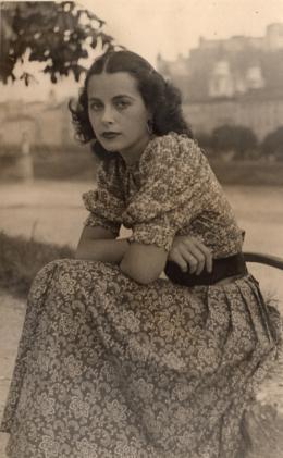 Hedwig Kiesler, Salzburg, um 1935 © Anthony Loder Archive