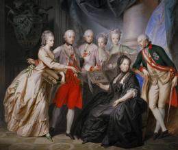 Heinrich Friedrich Füger Kaiserin Maria Theresia und ihre Kinder, 1776 © Austrian Archives (AA) / Imagno / picturedesk.com