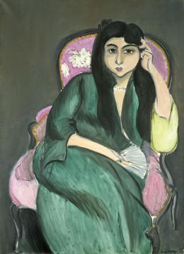 Henri Matisse, Frau in Grün, 1917 Öl auf Leinwand Privatsammlung
