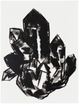 "Herbert Brandl, ""Ohne Titel"", 2017,  Öl auf Leinwand, 120 x 90 cm, Courtesy Galerie Bärbel Grässlin, Frankfurt am Main, Foto: Wolfgang Günzel, Wien"