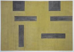 Untitled (No Bild), Helmut Federle 1986, Acryl auf Leinwand 267x380 cm, ©ZKM I Zentrum für Kunst und Medien Karlsruhe