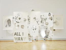 Werkbeispiel Anna Hilti: Installation 'In Search of the Promised Land', 2015 (Bild: Heimspiel 2015)
