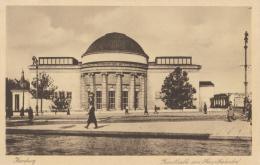 Historische Postkarte »Kunsthalle am Hauptbahnhof«, nach 1919 Foto: unbekannt © Hamburger Kunsthalle