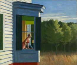 Edward Hopper: Cape Cod Morning, 1960, Öl auf Leinwand (© Heirs of Josephine Hopper/ ProLitteris Zürich)