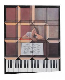 """Melanie Ebenhoch, """"Piano Bar - Keys don't fit"""", 2018 Courtesy die Künstlerin"""