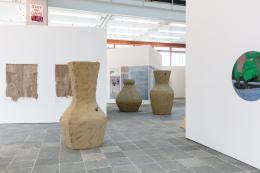Werke von Birke Gorm, Maureen Kaegi, Melanie Ebenhoch Foto: kunst-dokumentation.com © Belvedere, Wien, 2019