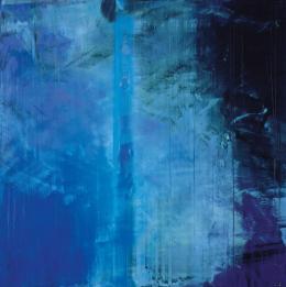 """Hubert Scheibl, """"Dave, tu es nicht, lass' es sein, hör auf ..."""" (2001: Odyssee im Weltraum), 2003-2004 Öl auf Leinwand, Albertina, Wien - Sammlung Batliner © Hubert Scheibl"""
