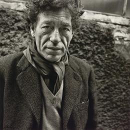 Alberto Giacometti (1901-1966), 1957, Silbergelatineabzug, Albertina, Wien – Schenkung Sammlung Helmut Klewan © Franz Hubmann | Imagno | picturedesk.com