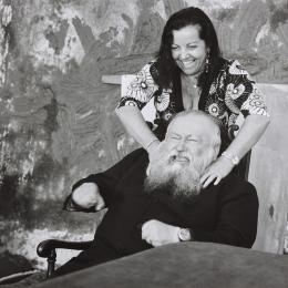 """Hermann und Rita Nitsch, 2009 aus der Serie """"Einblicke. Künstler und ihre Partner"""""""