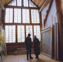 """Wolfgang und Edda Hollegha, 2013, aus der Serie """"Einblicke. Künstler und ihre Partner"""""""