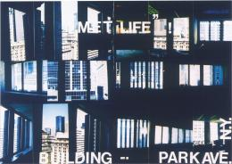 Isa Genzken Met Life, 1997 Farbfotografie aus der Mappe postproduktion © Sammlung Generali Foundation – Dauerleihgabe am Museum der Moderne Salzburg Foto: Werner Kaligofsky