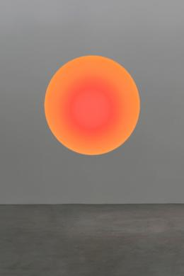 "James Turrell ""The Circular Glass"", 2020 Simulation 