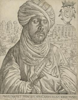 """Jan Cornelisz Vermeyen, """"Muley Ahmed"""", ca. 1536,  Albertina, Wien © Albertina, Wien"""