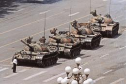 Jeff Widener, Tank Man, Tienanmen, Peking, 5. Juni 1989