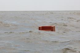 Josef Trattner, Sofa, Schwarzes Meer 2016 Pigmentdruck auf Bütte 160 x 120 cm © Josef Trattner