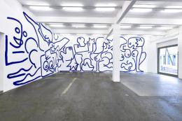 Marine Julié, La Nuit, 2020. Courtesy: die Künstlerin. Photo: Kunst Halle Sankt Gallen, Sebastian Schaub