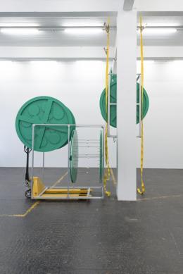 Aaron Flint Jamison, Opportunity Zone, 2019 (Detail). Photo: Kunst Halle Sankt Gallen, Sebastian Schaub