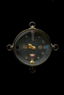 Horoskop-Amulett Wallensteins, Süddeutsch, um 1600/10, Kunsthistorisches Museum Wien, Kunstkammer © KHM-Museumsverband