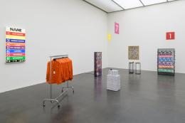Ausstellungsansicht Marion Baruch. Retrospektive – innenausseninnen, Kunstmuseum Luzern, Foto: Marc Latzel