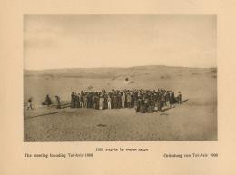 Fotografie von Abraham Soskin, 1908, aus: Abraham Soskin, Tel Aviv. Berlin 1926