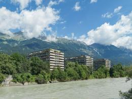 Franz Kotek, Wohnanlage Mariahilfpark, Innsbruck, 1969 – 73 Bildnachweis: © Günter Richard Wett