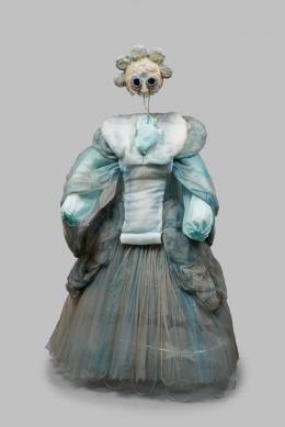 Element Luft in Il lutto dell'universo (Die Trauer des Weltalls), Ernst Fuchs (1930-2015, Kostümentwurf), Ernst Steiner (geb. 1935, Maske), 1977, Theatermuseum, Wien © KHM-Museumsverband
