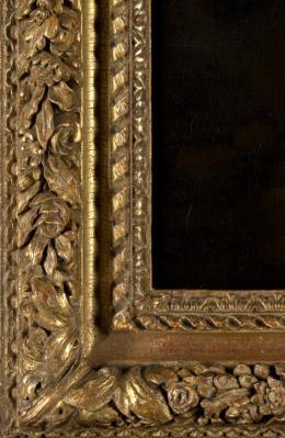 Rahmen für Adriaen van der Werffs Gemälde Die Vertreibung aus dem Paradies, 1711; Staatliche Kunsthalle Karlsruhe