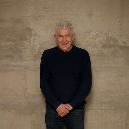 Porträt von Bill Fontana, Kunsthaus Graz, 2020,  Foto: © Stefan Emsenhuber