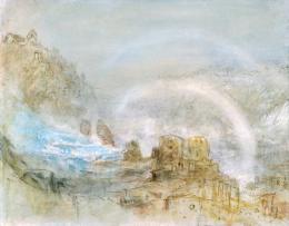 Joseph Mallord William Turner (1775-1851), Der Rheinfall bei Schaffhausen, 1841 (c) Museum zu Allerheiligen Schaffhausen