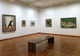 Blick in die bedeutende Kunstsammlung des Museums zu Allerheiligen; u.a. mit Werken von Cranach, Hodler, Vallotton, Otto Dix und Adolf Dietrich. © Museum zu Allerheiligen Schaffhausen