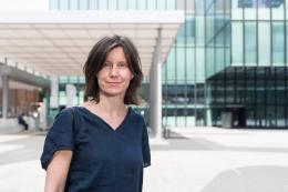 Portrait Lara Almarcegui, 2018 Messeplatz Projekt «Basilea» für die ART Basel 2018 © ART Basel, 2018