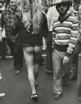 Leon Levinstein, New Orleans, 1976, 1976 © Leon Levinstein / Courtesy: Howard Greenberg Gallery, NYC, Haus der Photographie / Sammlung F.C. Gundlach, Hamburg