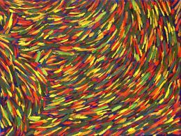 """Alexander Strohte, """"Les Parasols de Deauville I"""" - 2014 Öl auf Leinwand, 60 x 80 cm © Galerie Welz"""