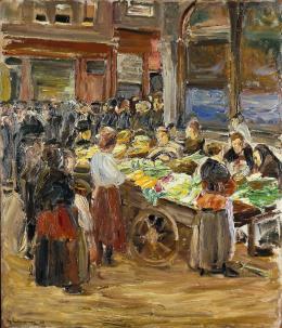 Max Liebermann, Judengasse in Amsterdam, 1908. Städel Museum, Frankfurt am Main; Foto: U. Edelmann