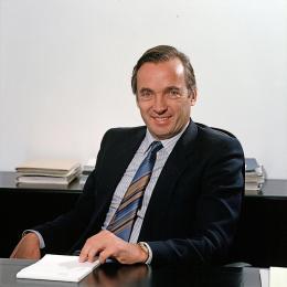 Guntram Lins 1984 (Foto: Helmut Klapper, Vorarlberger Landesbibliothek, CC BY 4.0)