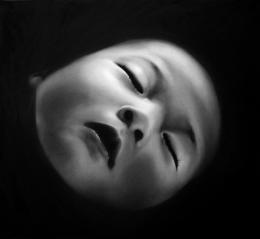Robert Longo, Ohne Titel (Ping), 2007, Kohle © Robert Longo