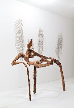 Giuseppe Penone, Grand geste végétal No 1, 1983 Bronze, 150 x 150 x 150 cm Sammlung Hubert Looser, © 2019 ProLitteris, Zürich
