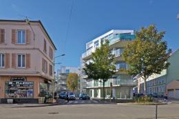 Sozialer Wohnbau, 59 Wohnungen, Jardins Neppert, Mulhouse, 2009 – 2014 & 2015 Bildnachweis: © Philippe Ruault