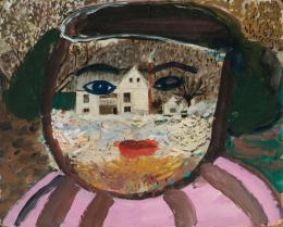 Margot Bergman: E. John Street, 1996/2002. Acryl auf Karton, 40,6 x 50,8 cm; Courtesy of Margot Bergman