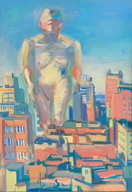 Maria Lassnig, Woman Power, 1979, Albertina, Wien –The Essl Collection © Maria Lassnig Stiftung / Bildrecht, Wien, 2020