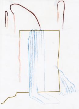 The Other One (Drawing Nr. 11), 2018  © Marie Reichel