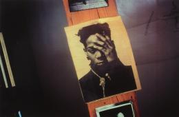 Marina Faust: Aus der Serie Basquiat-Mort Paris, 1989–1990/1989. Inkjetdruck. © Fotosammlung des Bundes am Museum der Moderne Salzburg