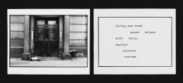Martha Rosler The Bowery in two inadequate descriptive systems, 1974–75 (Die Bowery in zwei unzulänglich deskriptiven Systemen) Fotoinstallation, Detail © Sammlung Generali Foundation – Dauerleihgabe am Museum der Moderne Salzburg, Foto: Werner Kaligofsky