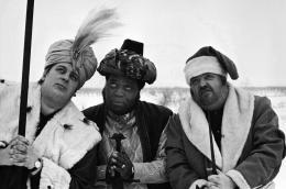 Fatty George, Al Fats Edwards, Helmut Qualtinger, 1977, Hahnemühle Fine Art Baryta Print © Michael Horowitz