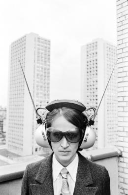 Kiki Kogelnik in NYC, 1969, Hahnemühle Fine Art Baryta Print © Michael Horowitz