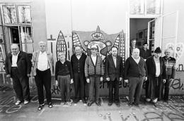 Künstler aus Gugging, 1981, Hahnemühle Fine Art Baryta Print © Michael Horowitz