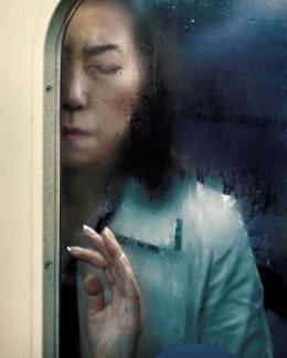 Michael Wolf, Tokyo Compression #39, aus der Serie: Tokyo Compression, 2010–2012 © Michael Wolf / Courtesy: Christophe Guye Galerie