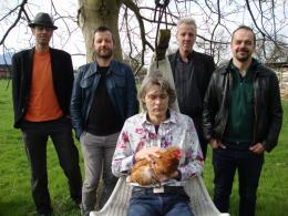Mose: V.l.n.r.: Thomas Kuschny, Herbert Walser-Breuß, Thomas Keckeis (vorne), Karl Müllner und Markus Marte (Bild: zVg)
